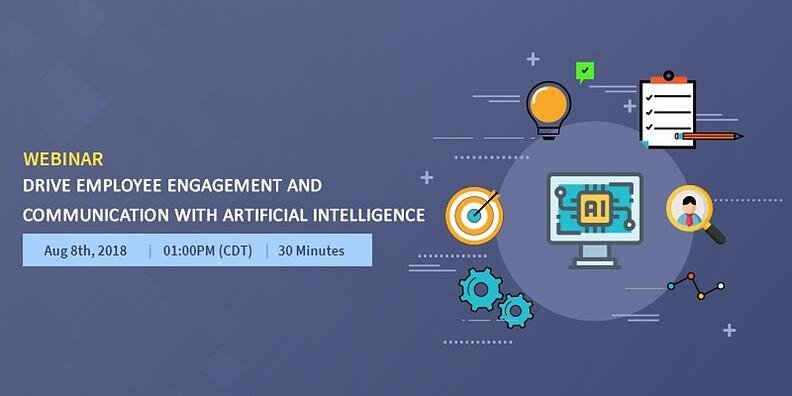 Webinar-Drive employee engagement and communication with Artificial Intelligence 1200*600