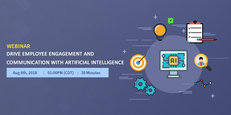 Webinar-Drive employee engagement and communication with Artificial Intelligence