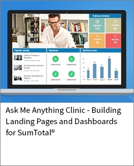 Building Landing Pages and Dashboards for SumTotal-1