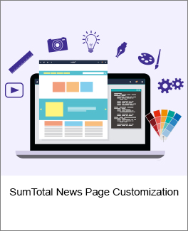 SumTotal News Page Customization