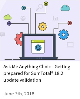 Getting prepared for SumTotal 18-2 update validation
