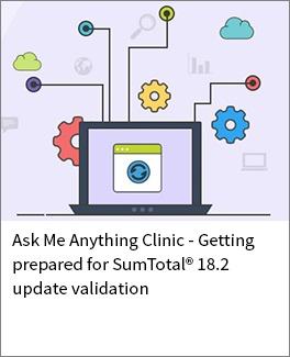 Sumtotal 18.2 update