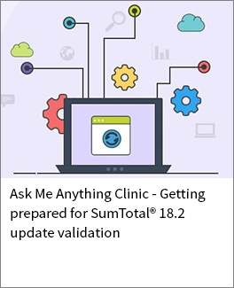 Sumtotal 18.2 update