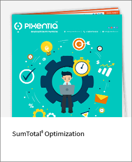 Sumtotal optimization