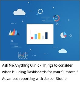 Things to consider when building Dashboards for your Sumtotal Advanced reporting with Jasper Studio-1