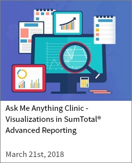 Visualizations in SumTotal Advanced Reporting